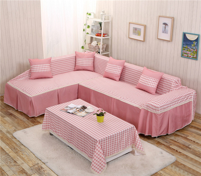 2017 Modern L Shaped Corner Sofa Cover Home Textile All Non Slip ...