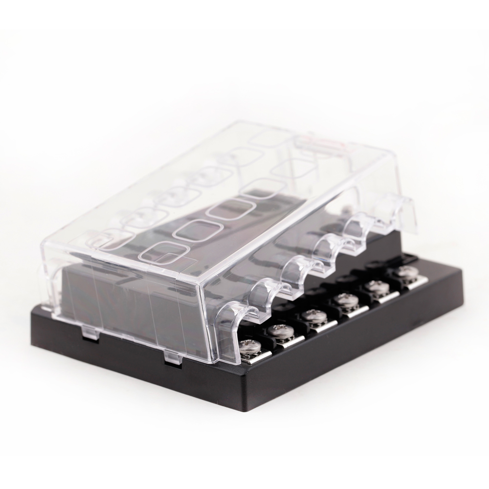 universal 32v 12 way fuse box block fuse holder box car ... car fuse box ticking