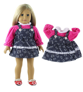 Image 2 - 5 Set Doll Clothes For 18 Inch American Doll Doll Handmade Casual Wear