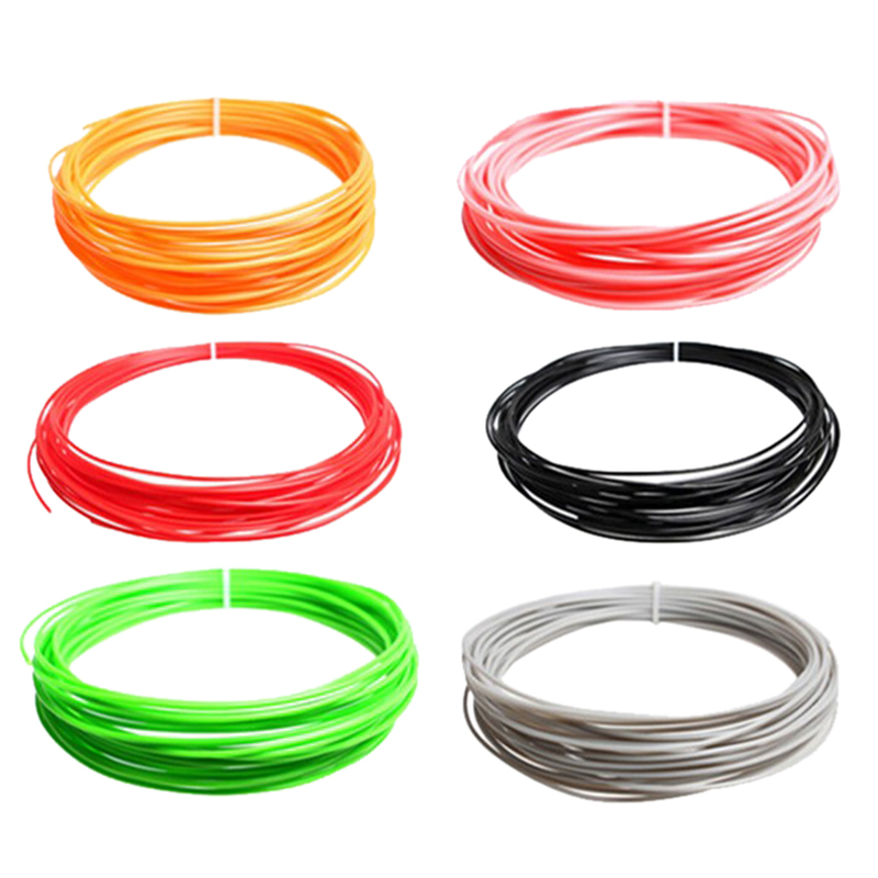 3D Printer Filament Samples 10Meters/roll 1.75mm for /3D Pen/Reprap/Makerbot