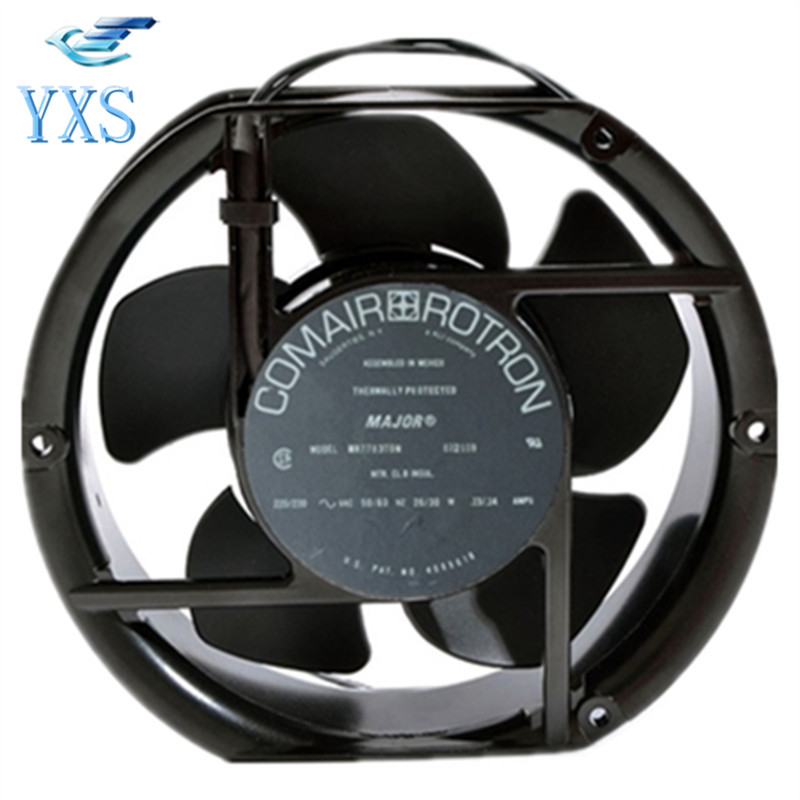 DHL Free MR77B3 AC220-230V 26/30W 13/14A 17050 170*170*50mm 50/60HZ Aluminum Frame Cooling Fan 17cm AC FAN new capacitive touch screen for 7 irbis tz 04 tz04 tz05 tz 05 tablet panel digitizer glass sensor replacement free shipping