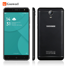 Doogee mtk6737 x7 pro 4g smartphone de 6.0 pulgadas hd ips quad core Android 6.0 2 GB RAM 16 GB ROM 8MP Marco de Metal 3700 mAh teléfono móvil