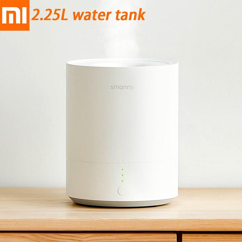 Xiaomi Smartmi humidificateur 2.25L haute pulvérisation purificateur intelligent fin brumisateur d'eau automatique mise hors tension huile Air arôme diffuseur pour la maison