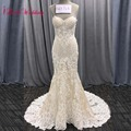 2020 nova moda sereia apliques vestido de casamento longo trem beading vestido de noiva robe de mariee rendas sem mangas vestido de casamento