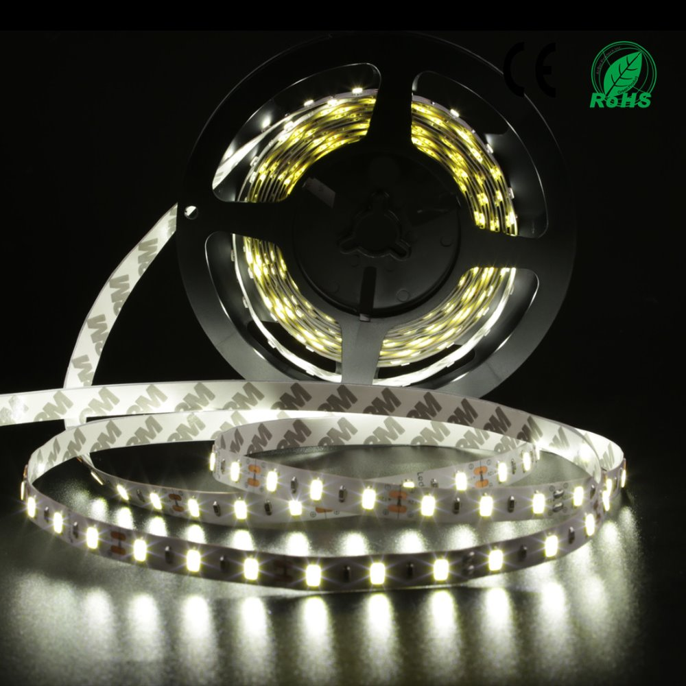 Led Strip White 5630 Non-Waterproof  300 Led 5m Ribbon With Remote Controller 12V 3A Power Supply For Home Desk Decoration wtf d12050a 50w waterproof led strip power supply 12v