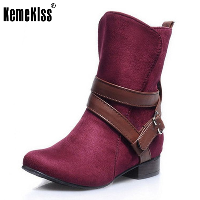 Size 30-47 Woman Ladies Shoes Zapatos Mujer Chaussure Women Boots Ankle Boots Bota Riding Boots Casual Lady Martin Boots
