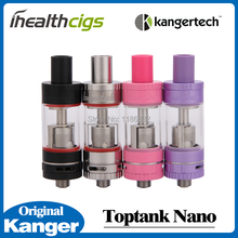 100% Original Kanger Toptank Nano atomizer 3.2ml Adjustable Airflow Top-fill or Bottom-fill Tank