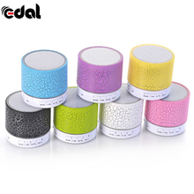 Mini LED Bluetooth Party Speakers Wireless Small Music Audio TF USB FM Light Speaker For Phone Xiaomi Stereo Music