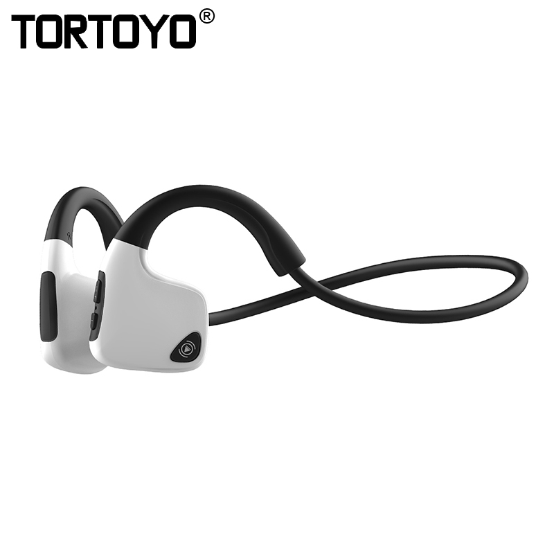 TORTOYO R19 Smart Bone Conduction Bluetooth Headphone Wireless Stereo Headset Sports Neckband Earphone For iPhone Xiaomi
