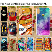 Soft TPU Phone Case for Asus Zenfone Max Plus M2 ZB634KL Silicone Cover Coque Shot