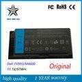 11.1 В 97WH Новый Оригинальный Аккумулятор для Ноутбука Dell M4600 M6600 FV993 PG6RC R7PND 0TN1K5DP TN1K5