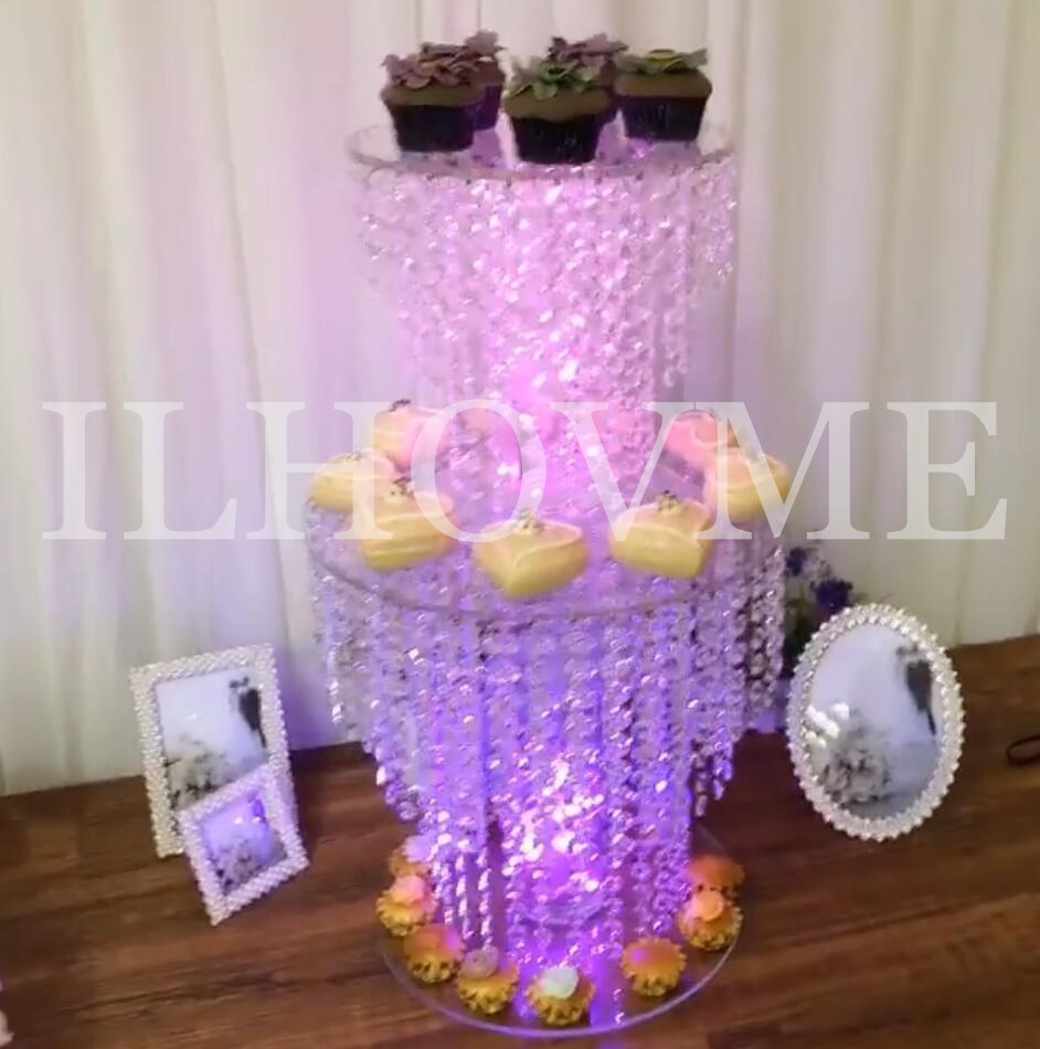 Wedding crystal cake stand wedding decoration party prop wedding ...