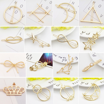 Clips for Women Hair Side Bobby Pins Ponytail Hairpins Metal Hairclips Hair Accessories