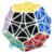 Mf8 helicóptero Dodecahedron cubo mágico Puzzle negro aprendizaje y educación juguetes cubos magicos rompecabezas muy challengin