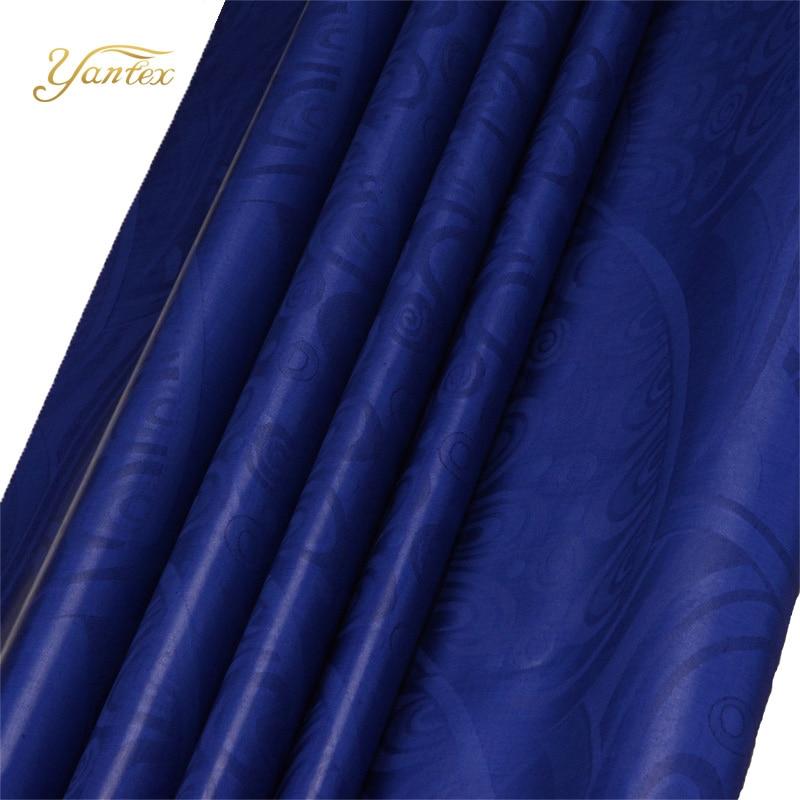 YANTEX-10Yards/Piece African Bazin Riche Guinea Brocade 100% Cotton Fabric Shadda Damask Garment In Stock For Party Clothing
