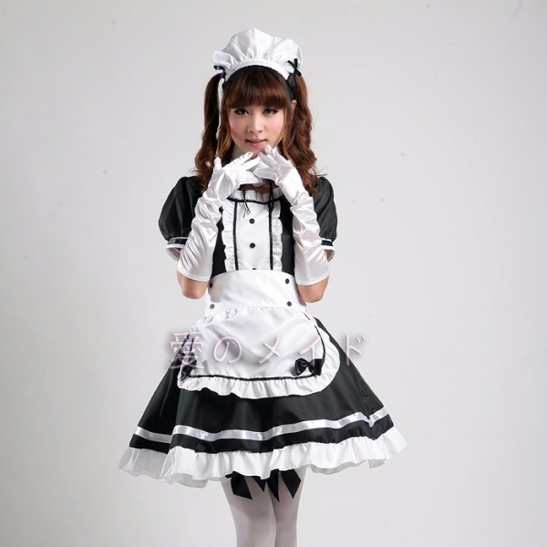 DB23978 sissy maid uniform-5