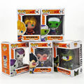 1pc/lot Dragon Ball Z Funko POP Super Saiyan Goku/Vegeta/Cell/Piccolo/Frieza PVC Action Figures Model DragonBall DBZ Toys 10cm