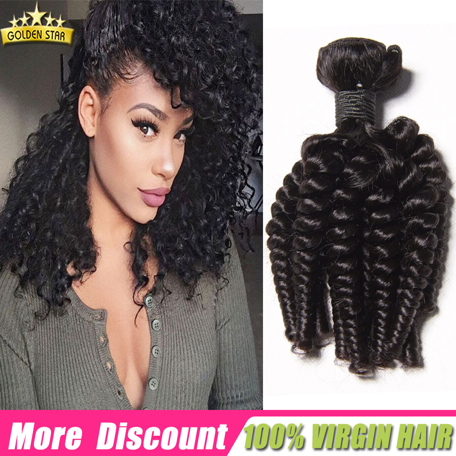 Mongolian Afro Kinky Curly Virgin Hair Natural Black Afro Kinky