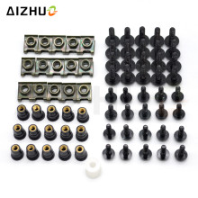 Aluminum Windscreen Fairing Bolts Motorcycle Accessories Nut Screws Washer for suzuki SV1000 S TL1000R V-STROM GSR600 750 SV650 nicecnc complete cnc fairing bolts kit bodywork screws nut for suzuki sv650 sv650s sv1000 sv1000s rgv250 rf600r rf900r