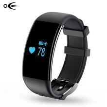 Monitor de freqüência cardíaca de pulso inteligente banda esporte natação smart watch pulseira pedômetro smartwatch chamada de lembrete para ios & android telefone