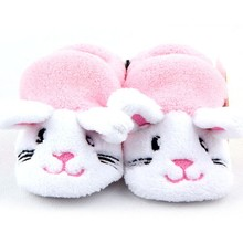 Baby First Walkers Toddler Shoes Animal Shape Soft Sole Warm Anti-slip Shoes 0-12Y Prewalker