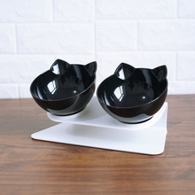 New ArrivalCreative Non-slip Cats Double Bowls Pet Food And Water Bowl For Dogs Feeders Supplies