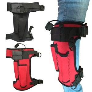 Scuba Diving Neoprene Knife Wrap Sheath Strap Leg Holder Tech Adjustable Dive Gear(China)