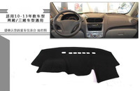 For Chevrolet Sail 2010 2013 Car Dashboard pad Cover Avoid Light Pad Instrument Platform Dash Board Cover Mat