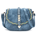New Ladies Women Bag Casual Handbags   Bolsas Feminina  Cross Body Simple Leather Shoulder Messenger Bags
