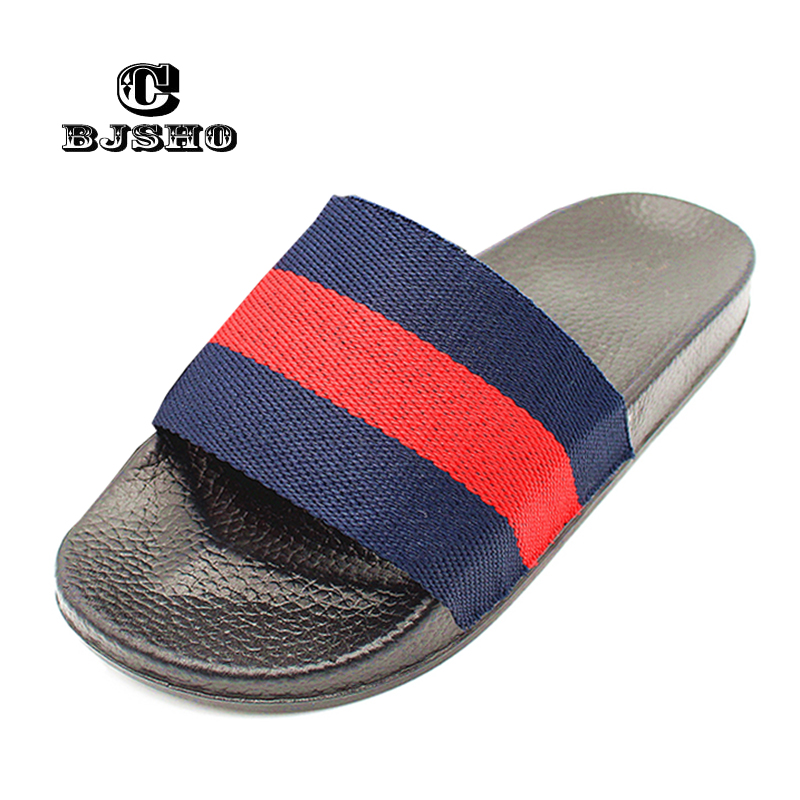 CBJSHO Summer Bathroom Slippers Female Casual EVA Home Slippers Women New Fashion Indoor Non-slip Floor Stripe Slipper Slides men s and women s bathroom slippers summer bathhouse slippers eva hotel slippery wear resisting couples cross belt slipper