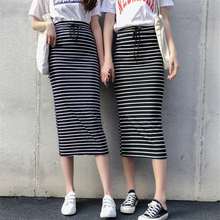 8466233c7 Compra striped pencil long skirt y disfruta del envío gratuito en ...