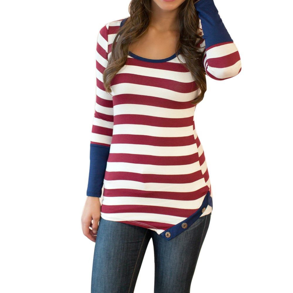 18e9995093330f Poleras-De-Mujer-Moda-2017-Vintage -camiseta-marca-mujeres-Moda-camiseta-Mujer-manga-larga-rayas-camiseta.jpg