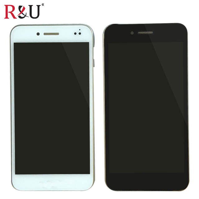 все цены на  R&U test good high quality lcd screen display & touch screen digitizer assembly with frame For Asus PadFone S PF500KL PF-500KL  онлайн