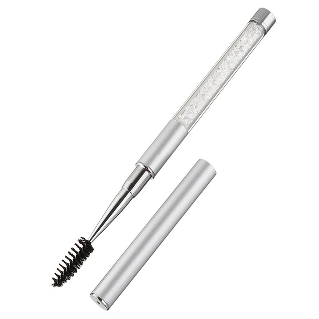1PC High Quality Crystal Eyelash Brush Mascara Wands Applicator Spoolers Eye Lashes Extension Individual Applicator Eye Makeup29 4