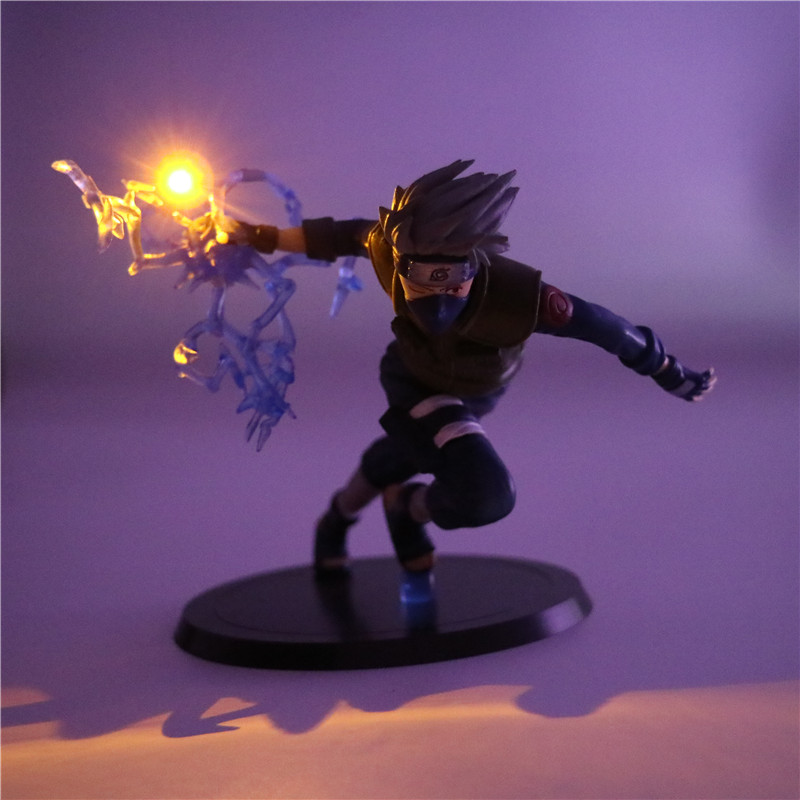 Naruto Kakashi Diy Cartoon Model Table Lamp Pvc Anime