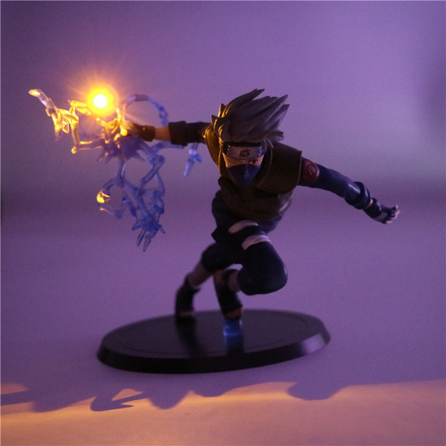Naruto Kakashi Table Lamp PVC Action Figure Night Light Toy