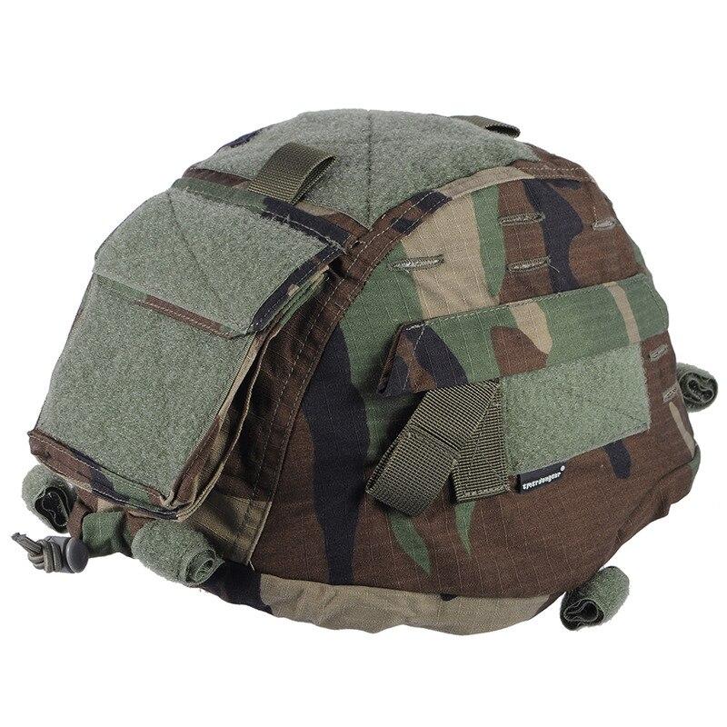 ЭМЕРСОН шлем Обложка для MICH 2000 Ver2 армейские шлем ткань военные маневры Airsoft Пейнтбол боевые Шестерни MICH Шлем Обложка