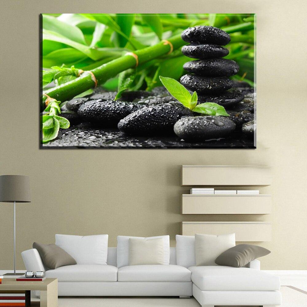 Xdr845 Zen toile affiche bambou toile peinture pour votre chambre et ...