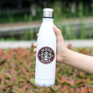 Image 5 - Cool Design Stainless Steel Thermos Insulated Stainless Steel Vacuum Bottle Custom Name Printing Gift
