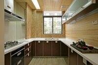 Melamine Mfc Kitchen Cabinets LH ME058