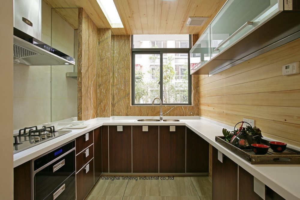 melamine/mfc kitchen cabinets(LH-ME058) melamine mfc kitchen cabinets lh me062