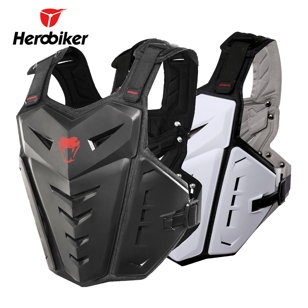цена HEROBIKER Motorcycle Armor Protection Motocross Clothing Racing Protective Gear Riding Body Armor Motorcycle Jacket Moto Vest