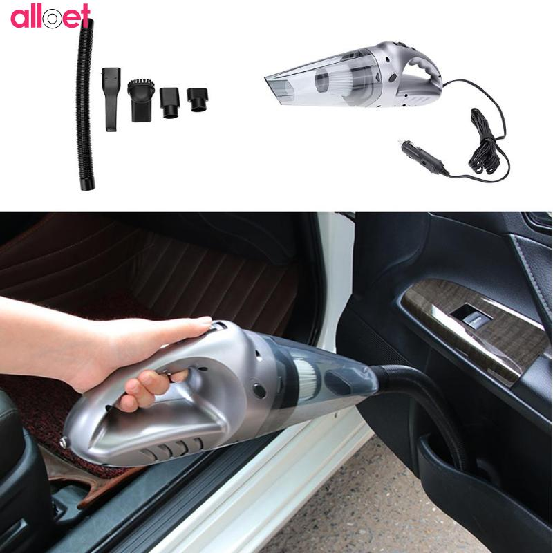 цена на Mini Portable Car Vacuum Cleaner Air Pump Vacuum Cleaner Handheld Wet Dry Super Suction Dust Collector Cleaning For Car