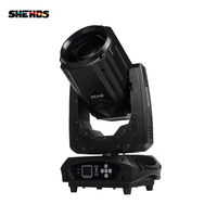 SHEHDS 16/17 Channel 260W Moving Head Light Lyre Beam DMX Stage Light Double Prism Rainbow 8+16+24 Face DJ Disco Party Wedding