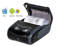 LS300BWU Black Color Handheld WIFI Printer with Bluetooth USB Interfaces for Android, Ios and Windows OS