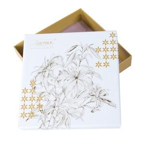 Image 5 - LilySilk Silk Night Sleep Cap Silk Cap for Sleeping Women Flounced Brand Solid 19 Momme Elegant Hair Care Accessories