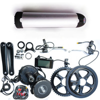 Bafang BBS02 48V 750W Ebike Electric Bicycle Motor 8fun Mid Drive Electric Bike Conversion Kit 48V