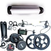 Bafang BBS02 48V 750W Ebike Electric bicycle Motor 8fun mid drive electric bike conversion kit + 48V 13Ah lithium ebike battery