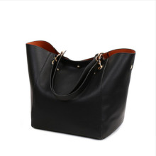 Women Genuine Leather Handbag Big Hobos Tote Bag Luxury Ladies Design Shoulder Real Handbags Womens Purse big bag