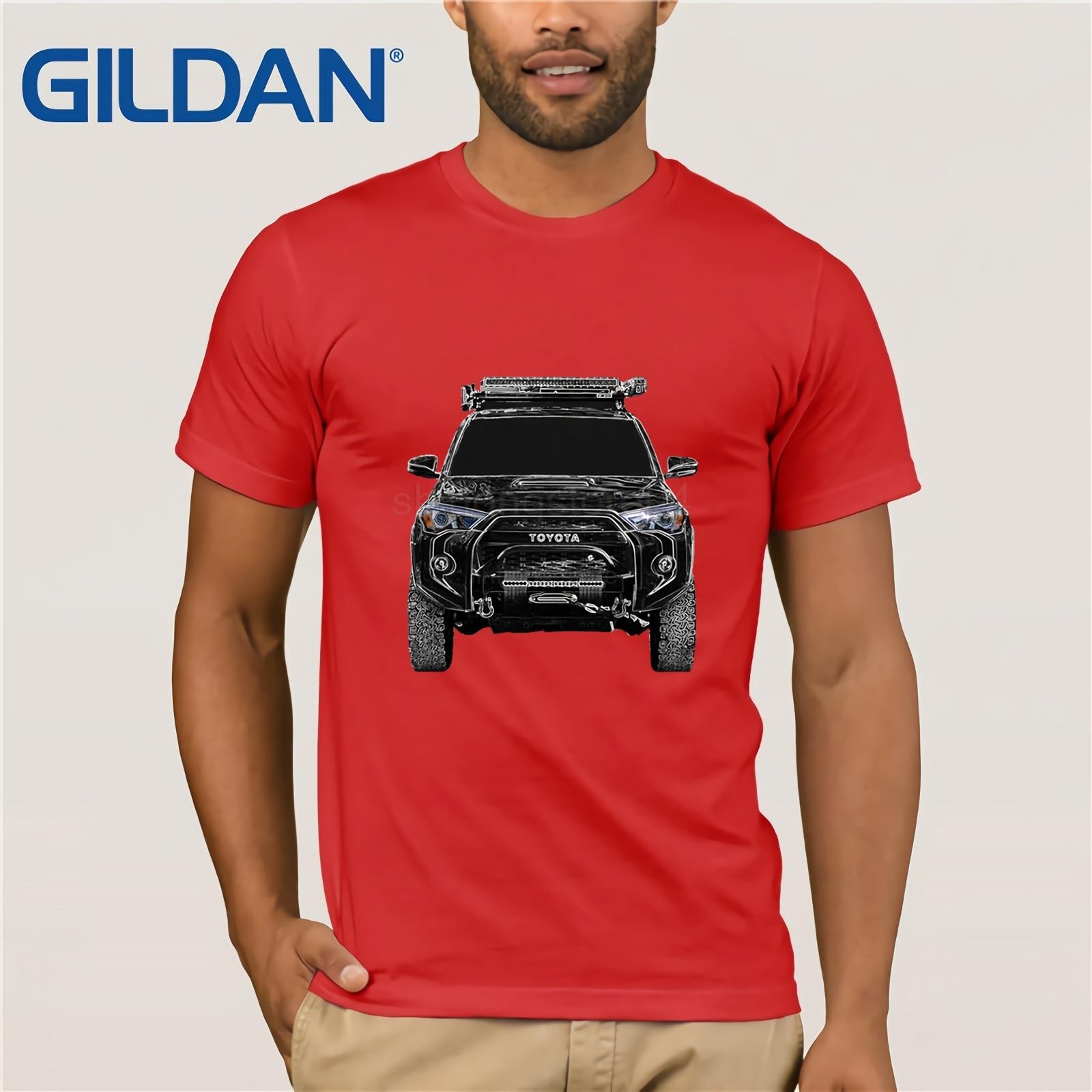 Newest 2019 Men T Shirt Fashion 4 Runner 4x4 Roof Rack Rock Slider Lift Off Road Light Winch Bumper SHIRT O Neck Tee Shirt in T Shirts from Men 39 s Clothing